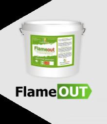 «Flameout» воднодисперсионная акриловая краска для огнезащиты путей эвакуации ТУ 2316-014-88712501-12